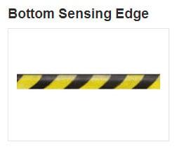 commercial door accessories bottom sensing edge