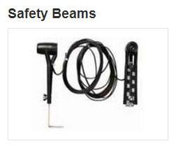commercial door accessories safety beams