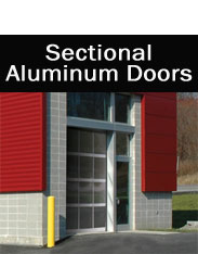 Sectional Aluminum Doors NJ & NYC