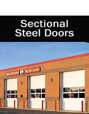 Sectional Steel Doors NJ & NYC