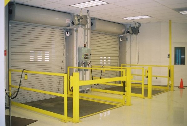Loading Dock Equipment & Roll-Up Commercial Doors