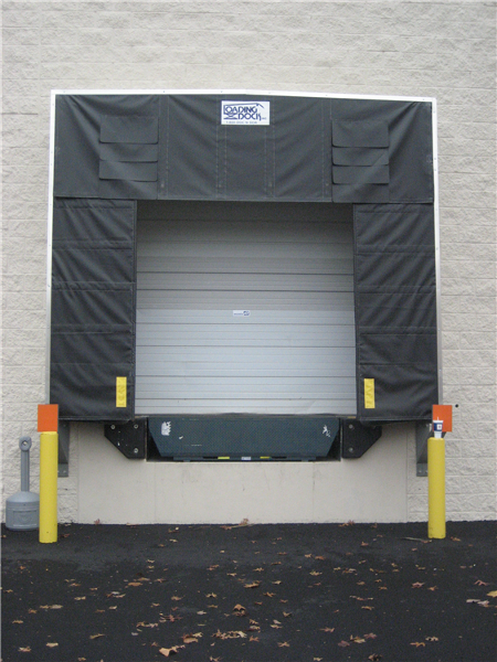 Loading Dock Equipment: Dock Shelter, Dock Levelers.