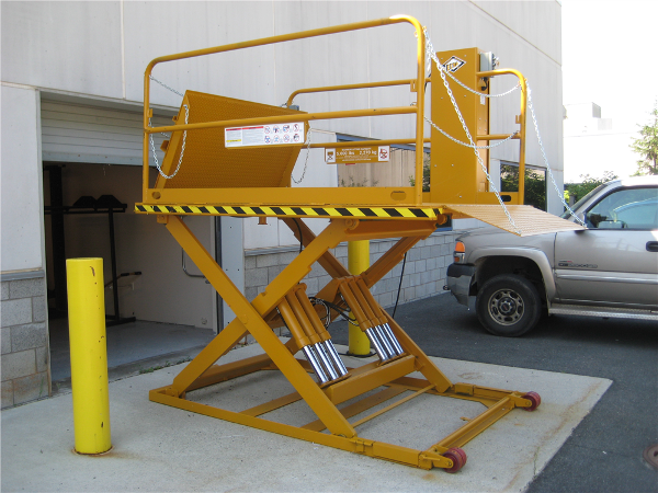 Loading Dock Equipment: Scissor Dock Lift