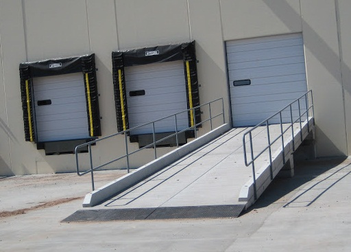 Ramp in NJ, Dock Shelters