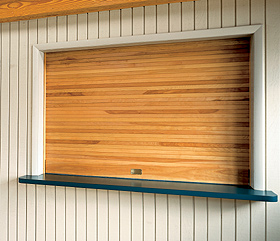 Wood Counter Doors 665 Series