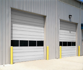 Sectional Steel Door Insulated 432 Series