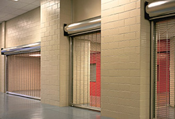 Security Grilles Upward Coiling-671 Series