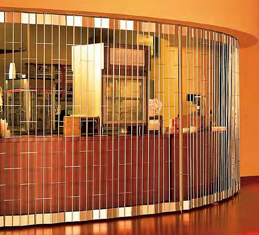 Side Folding Security Grilles, Side Coiling Grilles, Sliding Metal Grilles, Folding Grilles, Mesh Curtains