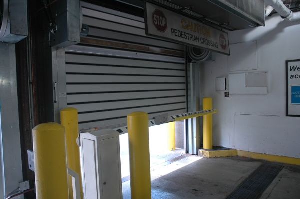 High-Speed Parking Garage Doors by Rytec
