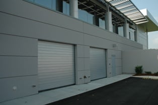 Spiral Doors for Autodealerships High-Speed Parking Garage Doors by Rytec