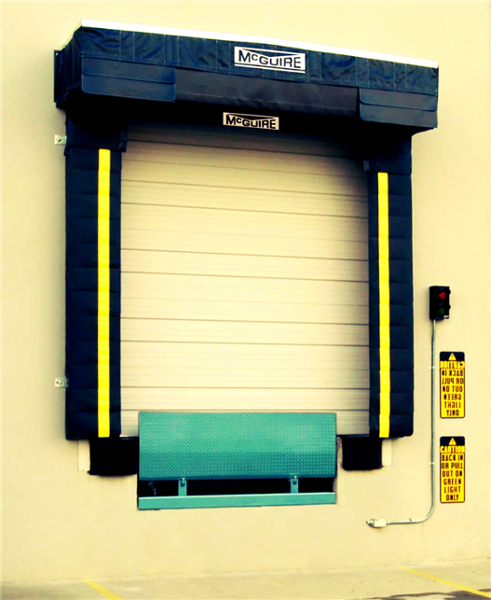 The TC1000 series Weather Sentry™ rain diverting system is the ultimate answer to water infiltration at the dock.