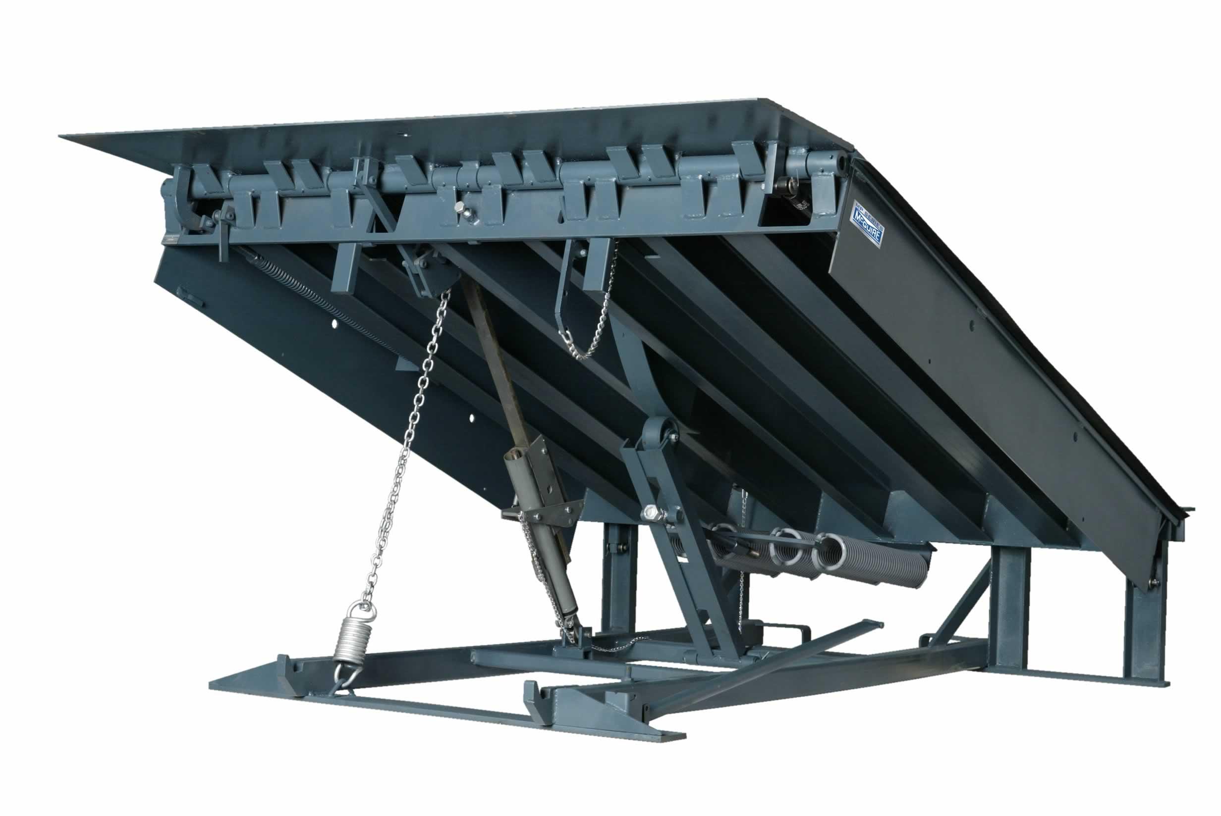 Dock Levelers. Mechanical Levelers