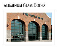 Alumnum Glass Doors