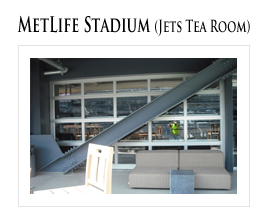 Metlife Stadium - Jets Tea Room