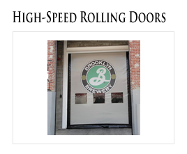 High Speed Fabric Rolling Doors