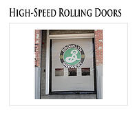 High Speed Fabric Rolling Doors