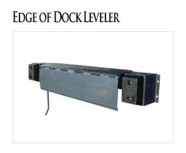 Edge of dock leveler