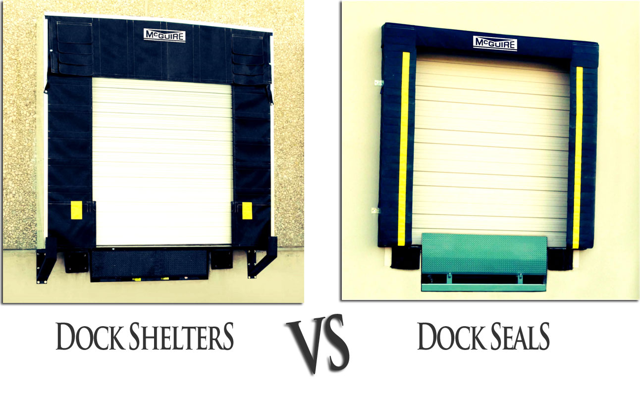 Dock Shelter VS Dock Seal