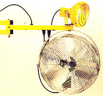 Loading Dock Lights - Fan Accessory