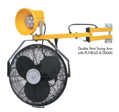 Dock Light Systems: High Capacity 3-Speed Fan