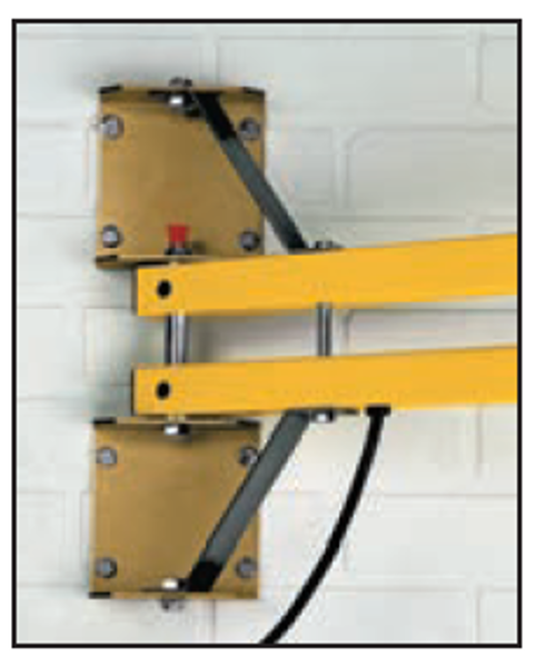 """Optional heavy duty mounting bracket. Provides additional support. Should be considered when mounting longer (90""""+) arms and when fan units are added."""