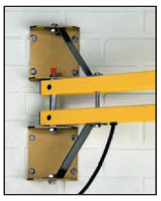 "Optional heavy duty mounting bracket. Provides additional support. Should be considered when mounting longer (90""+) arms and when fan units are added."
