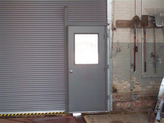 Roll Down Door with Man Door; Closed Roll Down with Pass Door & Roll Down Door with Man Door