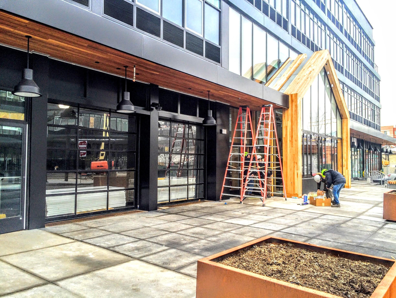 n garage twin hailey door id falls commercial installation