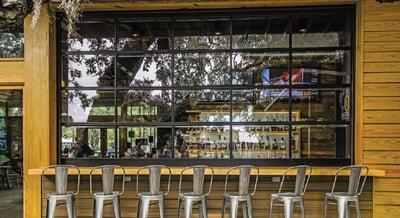 Aluminum Glass Doors for Restaurants  - Commercial Doors