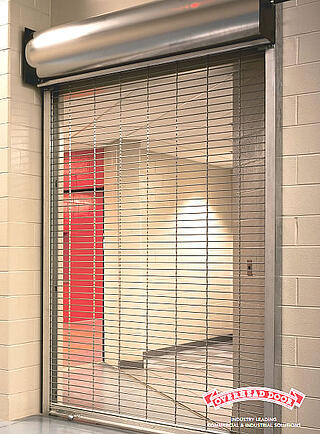 Coilng Grilles, Rolling Screen Grilles, Mesh Grilles, See through coiling door