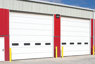 Commercial and Industrial Wind Load Resistant Overhead Doors Thermacore