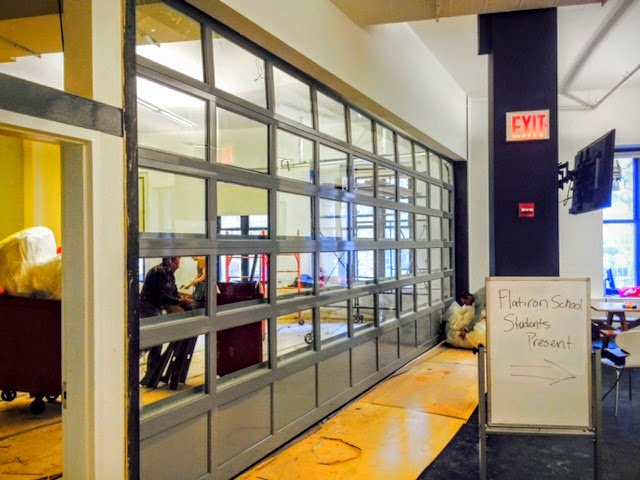 Conference Room  Aluminum Glass Overhead Door NYC