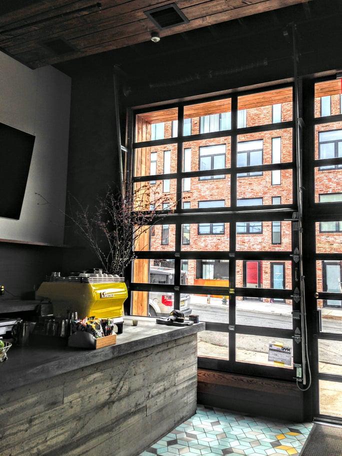Finest Doorman Blog Loading Dock New Jersey New York Brooklyn Glass Garage Doors