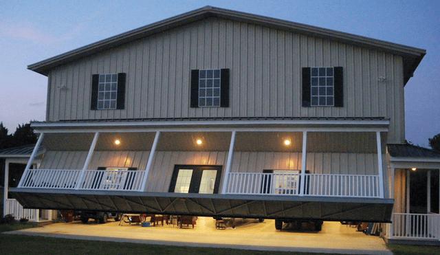 Designer Canopy-type Bifold Garage Doors