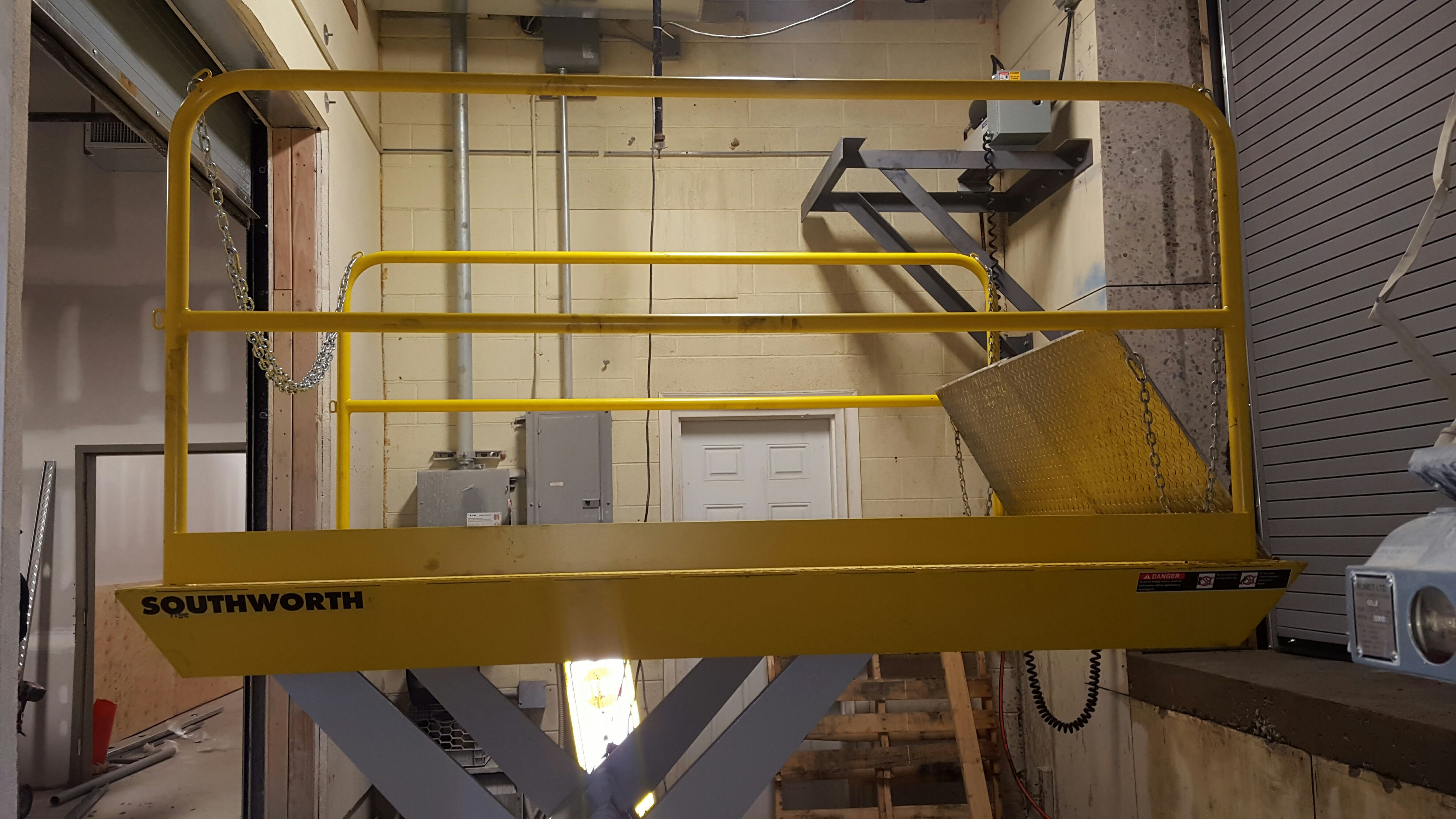 Dock Lift Bridge Platform Railings Repair Installation NJ NYC
