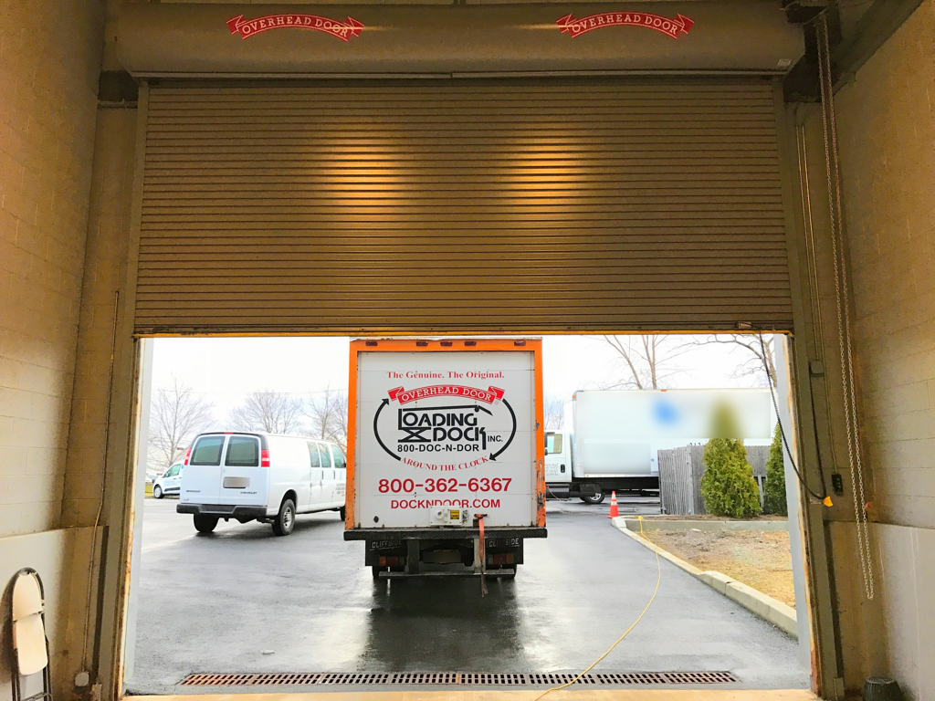 Drive In Loading Dock Door Motorized