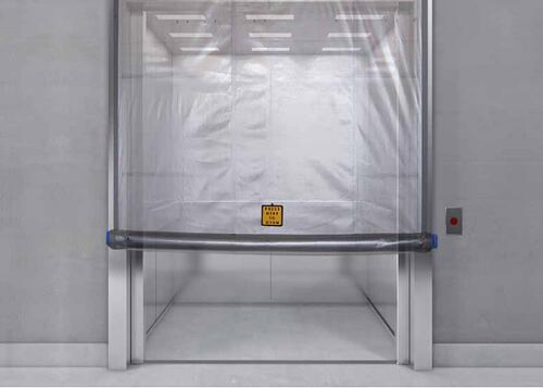 Fire Curtain for Elevator Doors
