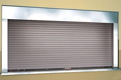 FireRated Integral Frame Sill Counter Doors 662