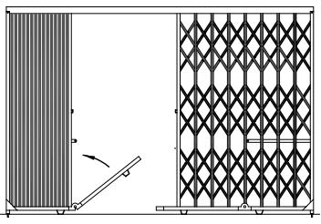 Folding_Scissor_Gate_Systems__DG_Series_Gate_details NYC NJ - 1
