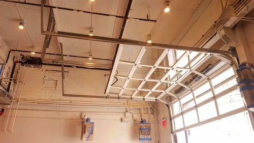 Glass Roller Garage Overhead-Door 521 Series in NYC