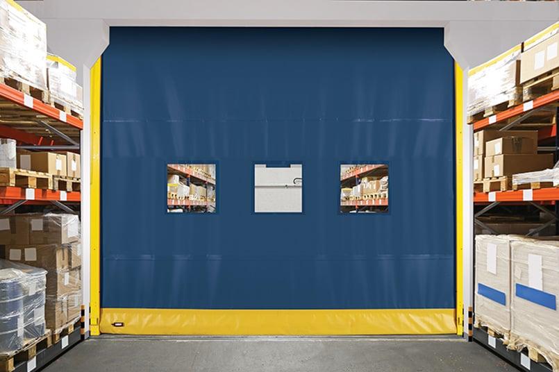 High-Speed Door, Fast Door, Fabric Overhead Door  990 Wide-1