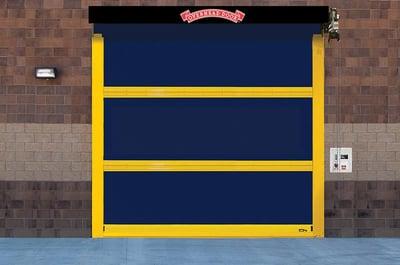 High-Speed Door, Fast Door, Fabric Overhead Door 994 Wide NYC NJ