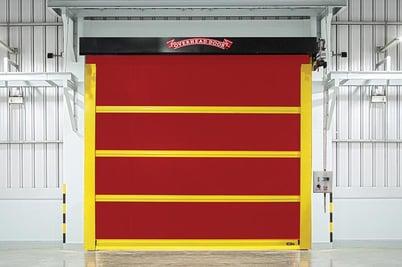High-Speed Door, Fast Door, Fabric Overhead Door992 Wide-1 NYC NJ
