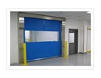 High-Speed Fabric and Rubber Rolling Doors