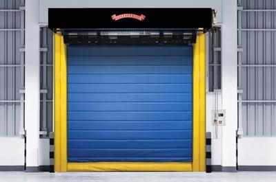 High-Speed Freezer Cooler 997 Wide-1 High-Speed Fabric Door, Fast Rolling Door NYC NJ