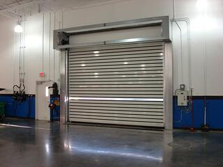 High Cycle Fast Speed Rollup Door Repairs Cloth Fabric