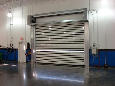 High-Speed Spiral Doors Aluminum Rytek Rytec