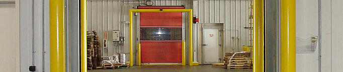 High Speed Or Fast Rolling Doors For Beer Wholesaling And