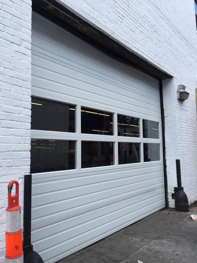 Sectional Garage Door Panel Replacement : Finest doorman loading dock new jersey york