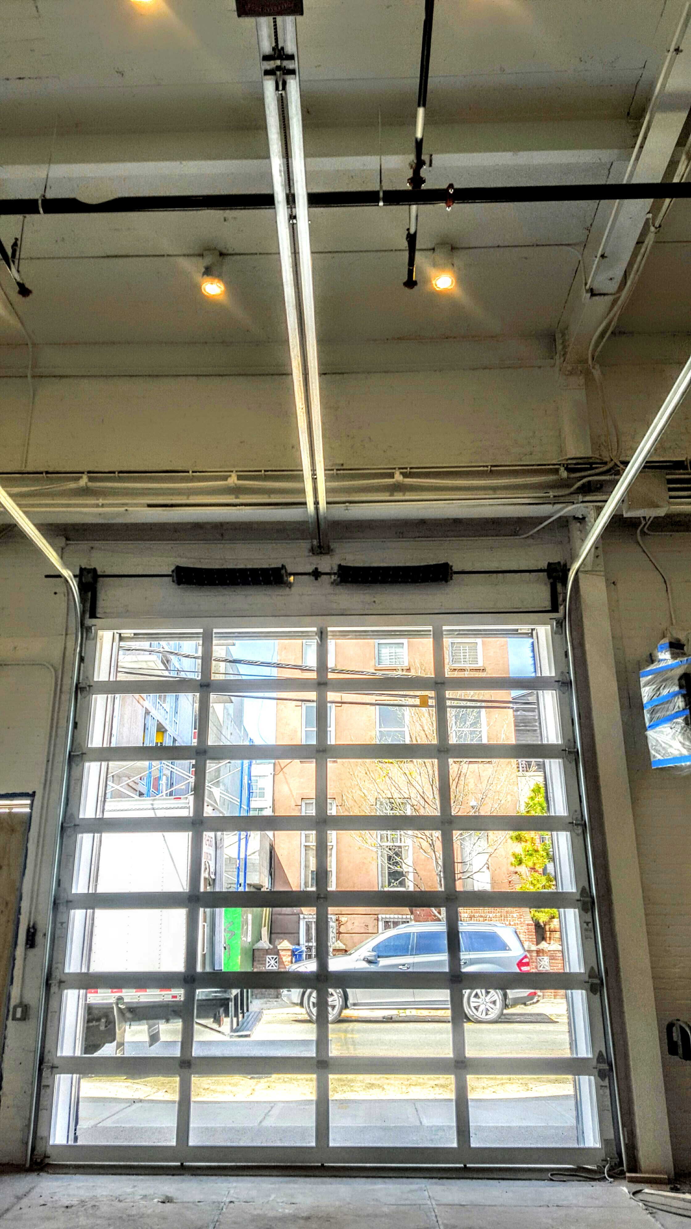 Project Snapshot Fast Ashley Photography Work Shop Studio Interior View  Glass Rollup Garage Doorg Lymitrio Images